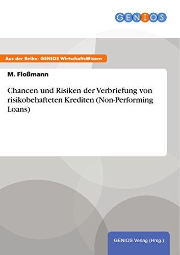 Verbriefung von non-performing Loans (German Edition)
