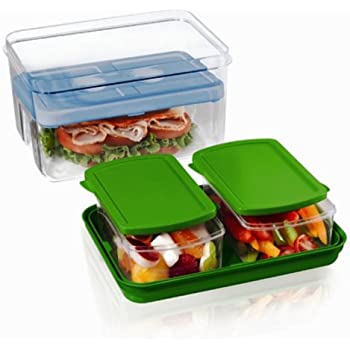 Amazon Com Rubbermaid Lunchbox Sandwich Kit Food Storage