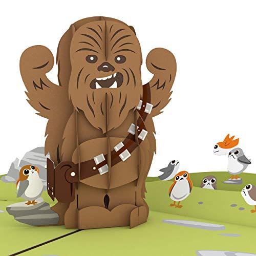 Star Wars Chewbacca RARRRGGHH! Pop Up Card, 3D