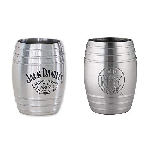 Jack Daniels Two Pack of Barrel Shotglasses