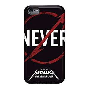 Iphone 6plus Jxb19397PdnY Support Personal Customs Lifelike Metallica Ride The Lightning Band Skin Durable Hard Cell-phone Case -AlissaDubois