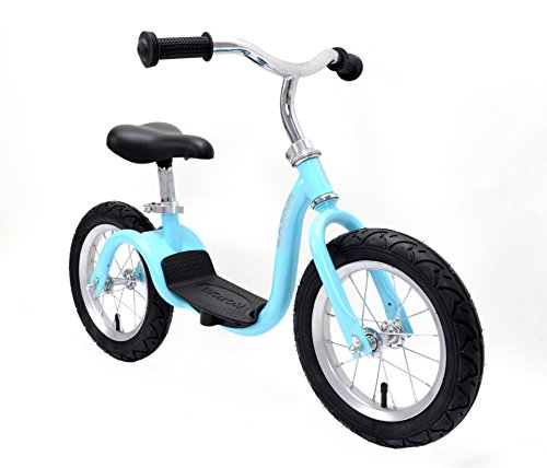 KaZAM v2s No Pedal Balance Bike, 12-Inch, Metallic Light Blue by KaZAM (Image #4)