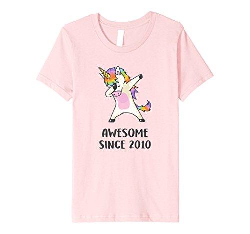 Kids Dabbing Unicorn Shirt Awesome Since 2010 8th