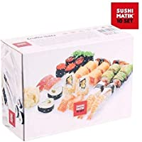 Appetitissime Matik Moldes para Sushi, Blanco, 21x15.1x8.4 cm