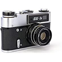 FED 5 Russian 35mm Lomography Rangefinder Camera Vintage Leica Copy