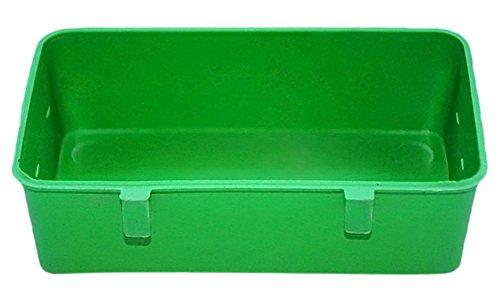 41JmVQ2kEVL - BleuMoo Bird Bathtub Bath Clean Box Trough Toy Accessory for Budgies