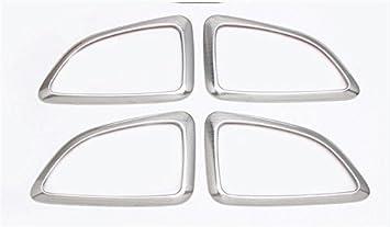 Emblema Trading mando consola central salpicadero embellecedor verkleidung Marco aspecto de acero inoxidable Auto accesorios