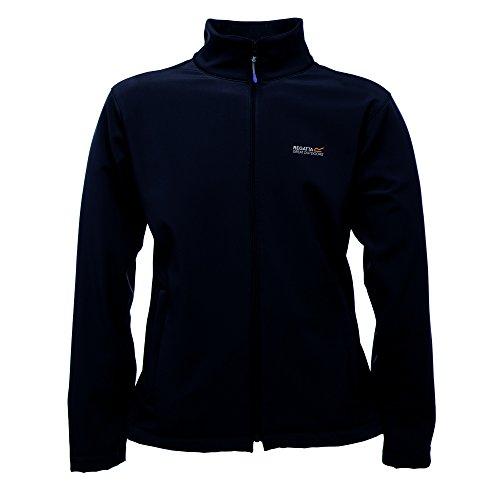Regatta Great Outdoors Mens Cera III Lightweight Softshell Jacket (M) (Black)