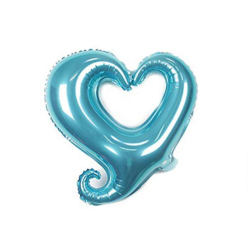 Advengers Party - Romantic Solid Color Hook Heart Balloons Wedding Birthday Party Valentine Decor - Balloons Accessories Ballons Ballons Accessories Birthday Queen Crown Alice Wonderland -