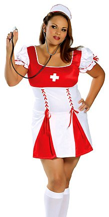 "Roma Costume Women's Plus Size ""Nurse Ellen Plus"" Nurse Costumes"