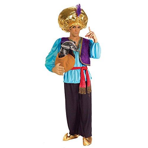 Forum Novelties Snake Charmer Costume, Blue/Purple, One (Snake Man Costume)