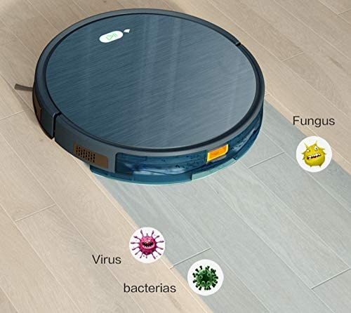Robot de balayage Aspirateur 3in1 Pet Hair Home Dry Mop Wet Mopping Nettoyage Robot Auto Charge Vacuum