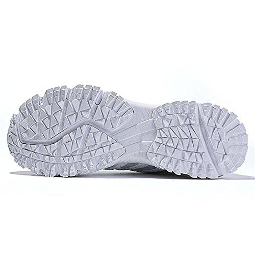 Running Fashion BO Men's Women's Shoes Outdoor Walking GERGER Jogging Athletic Shoes Tennis White Sneaker zdSPqnwn