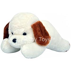 Richy Toys White Dog Cute...