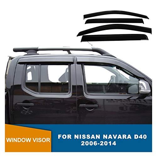 Wind deflectors Zijruit Deflectors Weerschild Rain Vizier Voor NISSAN NAVARA D40 2006 2007 2008 2009 2010 2011 2012 2013…