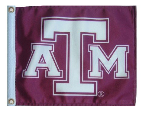 Texas A & M 11 in. x15in。Flag with Grommets / Great forボートやゴルフカート   B00AHKIHP8