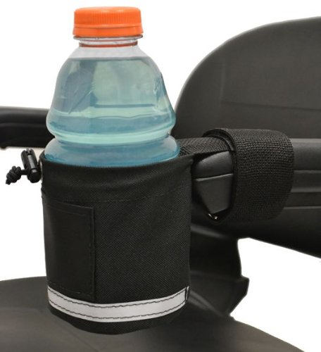 Diestco Unbreakable Cupholder With Front Mount | Attaches Easily To Armrests on Scooters, Power Chairs, and Office Chairs by Diestco