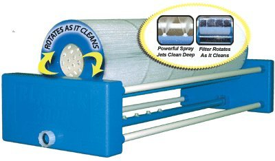 Rinse Filter Cleaner - Neoterics Blaster 2000 Automatic Pool and Spa Cartridge Filter Cleaner