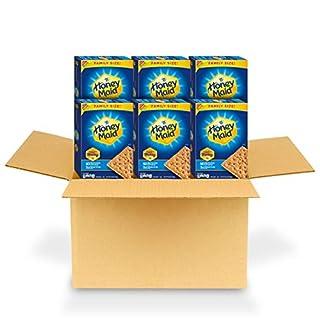 Honey Maid Honey Graham Crackers, Family Size, 6 - 25.6 oz boxes