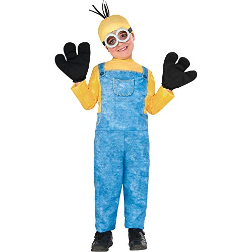 Children's Minion Halloween Costume (Child Minion Kevin Costume -)