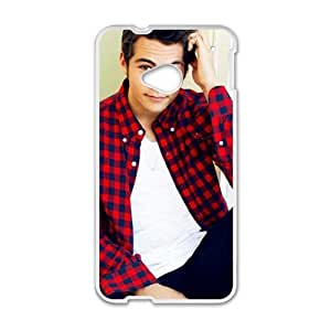 Happy One Direction Boys Cell Phone Case for HTC One M7