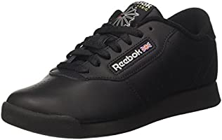 Reebok Princess, Women's Sneakers, Black, 6 UK (39 EU)