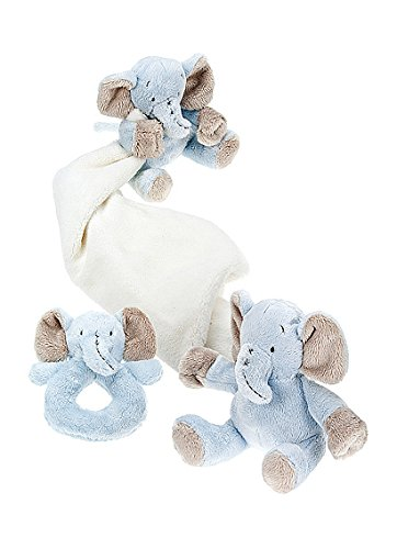 Mousehouse Gifts Baby Stuffed Animal Gift Set for Newborn including Stuffed Animal Soft Toy Elephant with