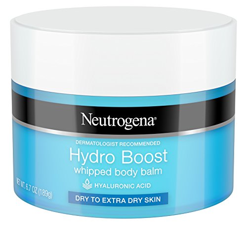 Neutrogena Hydro Boost Whipped Body Balm With Hydrating Hyaluronic Acid for Dry To Extra Dry Skin