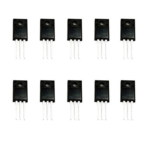 10個 MOSFETトランジスタ Nチャネル 2A 600V MOSFET電界効果トランジスタ