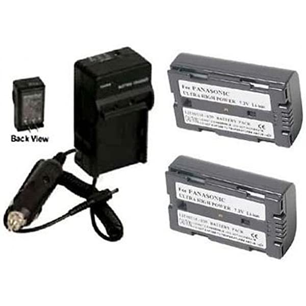 AG-DVX200EN AG-DVX200ED 4K HD Handheld Camcorder Battery Charger for Panasonic AG-DVX200EJ