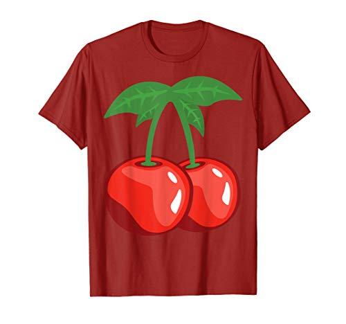 Cherry Fruit Easy Lazy DIY Halloween Costume