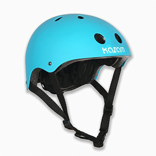 KaZAM Kid's Multi-Sport Helmet, Light Blue