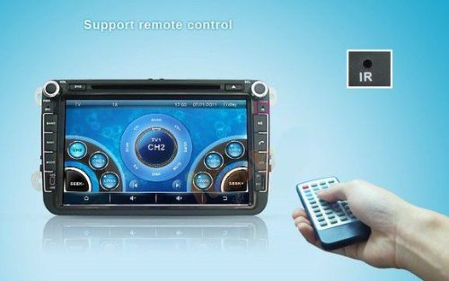 8 inch Touch screen Volkswagen DVD Player GPS Navigation for VW Jetta,VW Golf,VW Passat with DVD/GPS/PIP/3D/Game/AnalogTV/Bluetooth/ BT music/Ipod/BT telephone book/CANBUS (camera view),Steering Wheel Control by EinCar (Image #6)