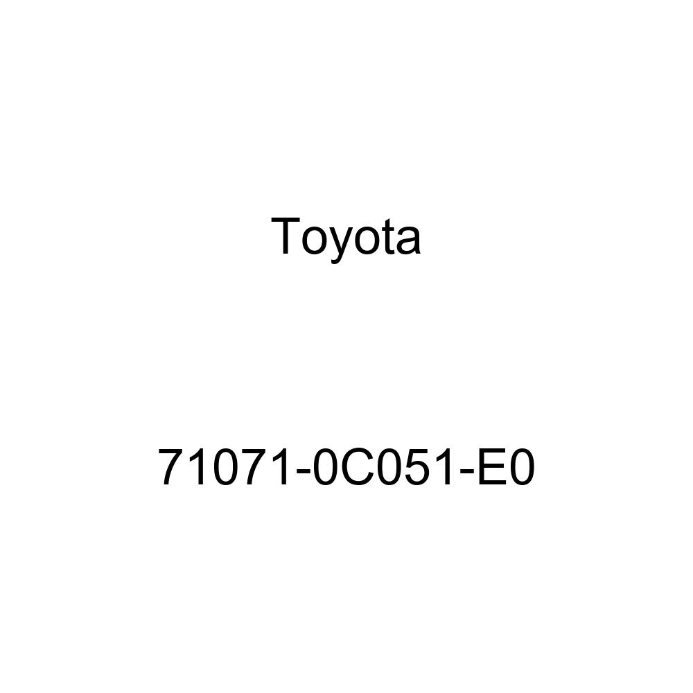 TOYOTA Genuine 71071-0C051-E0 Seat Cushion Cover