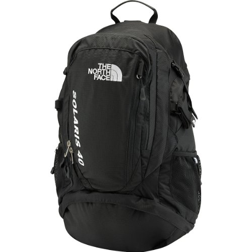 The North Face Solaris 40 Backpack TNF Black, Outdoor Stuffs