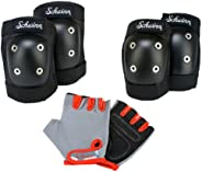 Schwinn Child's Pad Set with Knee Elbow and Gl