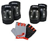 Schwinn Childs Pad Set with Knee Elbow and Gloves