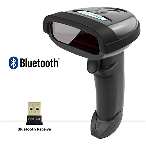 Handheld Bluetooth Barcode Scanner Portable Wireless 1D Laser Bar Code Reader Support Android/iOS/Windows RD-1698LY