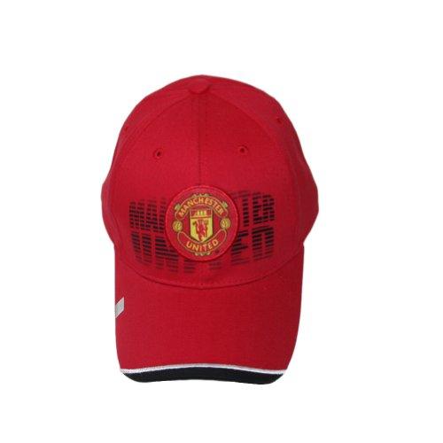 Manchester United Team Logo Graphic Design Soccer Football Cap by DIME Designer Beanies