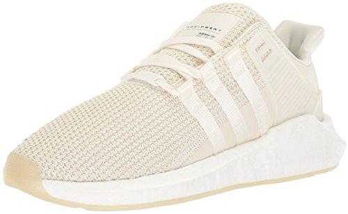 Adidas Mens Eqt Support 93/17 Scarpa Da Corsa Bianco Sporco / Bianco Sporco / Bianco