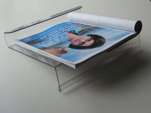 Magazine Reading Rack for Treadmills, Stair Climbers, Stationary Bikes, Elliptical Trainers and Rowers 9 x 11