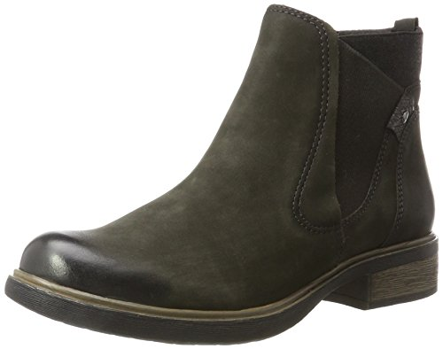 Tamaris Women 25317 Boots Green (oliva / Anthrac)