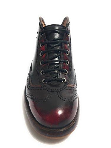 Scarpe Polacchino 1000MIGLIA Uomo Moro Grey U18BO03 Red Botti p7qptwExr
