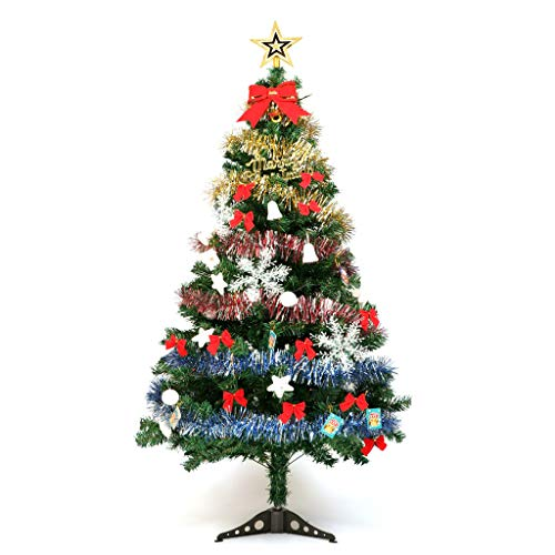 - Minidar Christmas Tree Pine Needle Tree for House Living Room Garden 1.5 Meter Deluxe Encrypted Decoration Christmas Decoration Solid Metal Legs Have Accessories Easy to Install