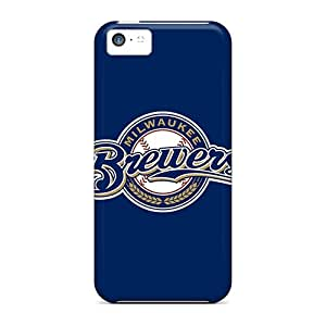 PRcases Case Cover Protector Specially Made For Iphone 5c Baseball Milwaukee Brewers
