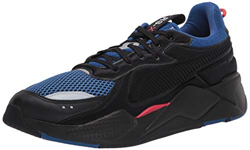 PUMA RS-X Sneaker, Black-Galaxy Blue, 10.5 M US