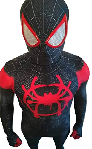 ComicCosplay Miles Morales Cosplay | Spiderverse Homecoming Spiderman Cosplay (XX-Large, Miles -