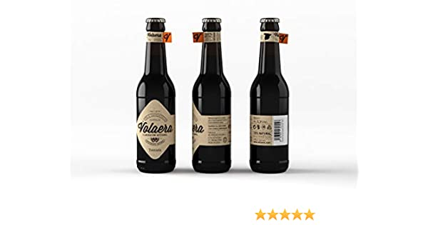 Tostada. Cerveza Artesana Volaera. Pack 12 botellines 33cl. Estilo IRISH RED.: Amazon.es: Alimentación y bebidas