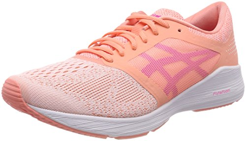 Ff 0620 Glo Chaussures begonia Rose pink Pink Running white Femme Asics De Roadhawk 5fqnTx7ZwO
