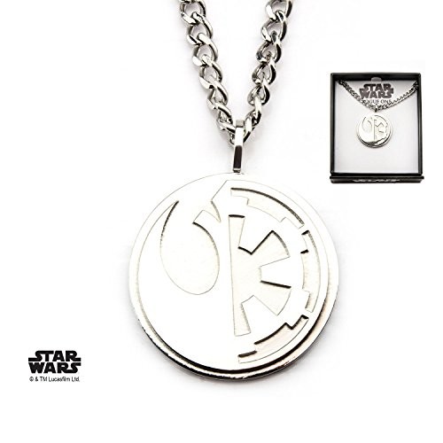 Rogue One Split Sybol Stainless Steel Pendant